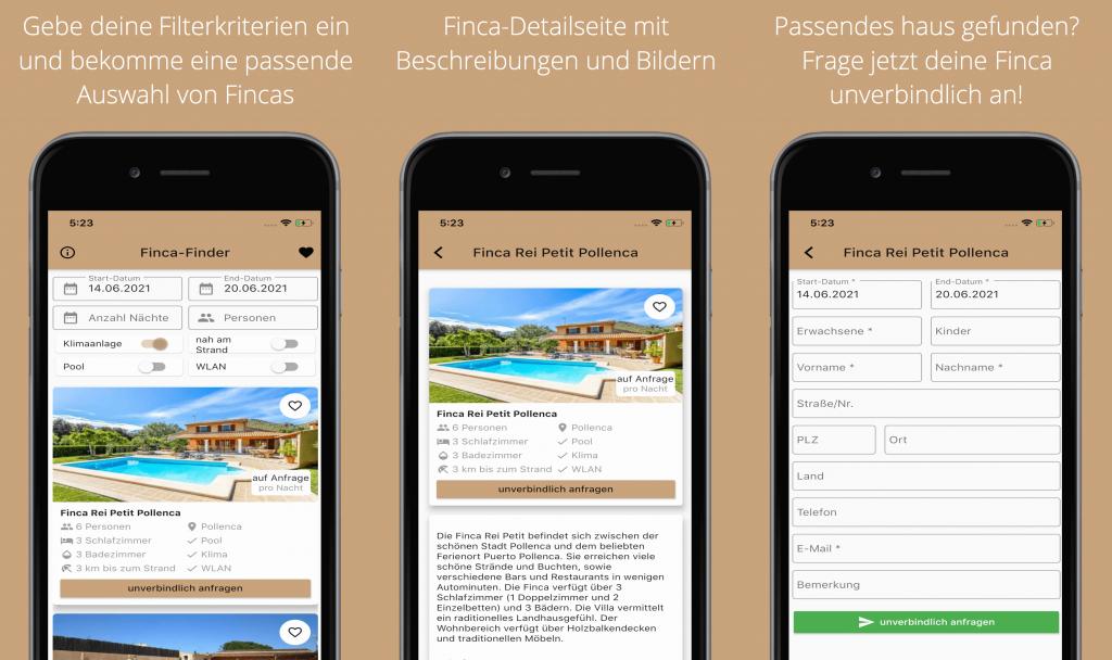 Finca Finder-App